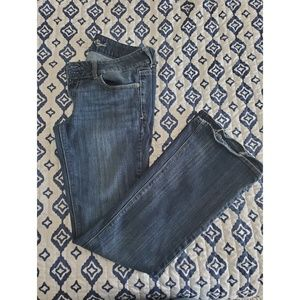 Boot Cut Dark Blue Denim Jeans